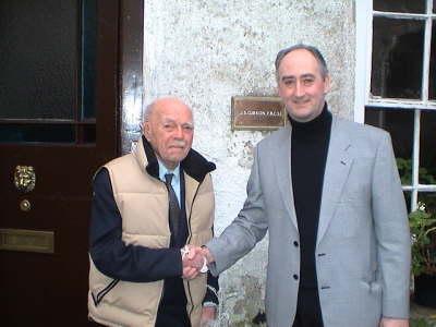 Dr Jack Gibson Martin Kiely World Hypnotism Day Ireland