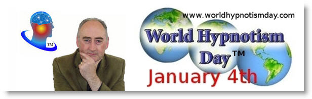 Martin Kiely Hypnosis Centre Ireland Supporting World Hypnotism Day Jan 4th Ireland